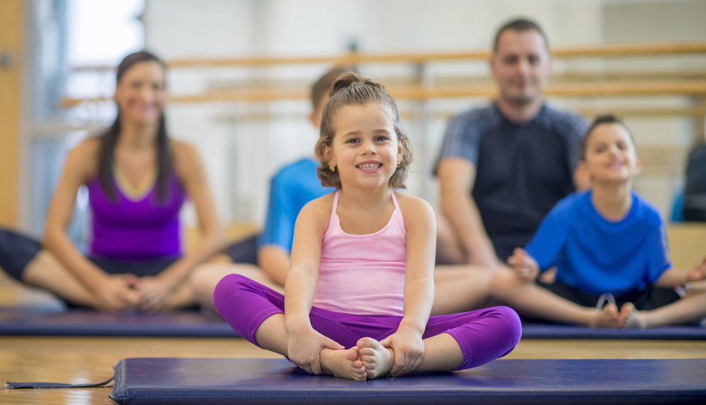 Encourage healthy yoga practice with your kids