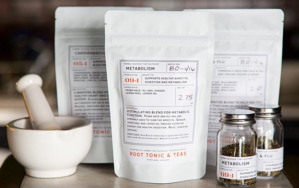 Introducing Root Tonic & Tea