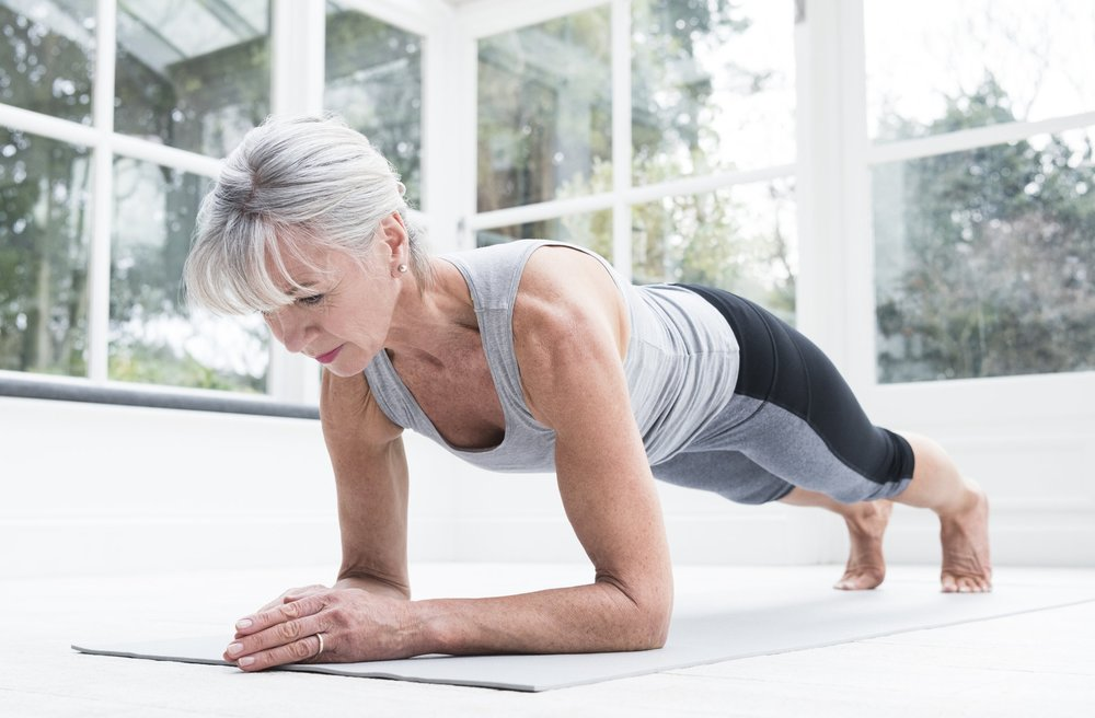 Strengthen muscles with pilates